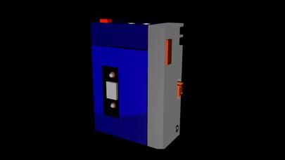 3D modeleret walkman m. animation