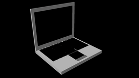 3D modeleret PC