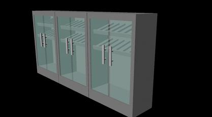 3D modeleret mælkekølere