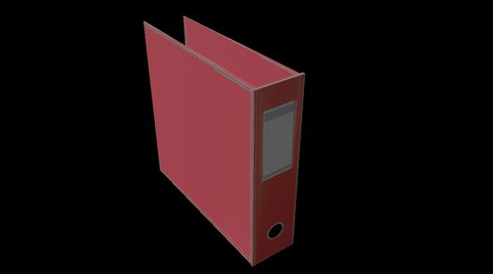 3D modeleret + textureret ringbind