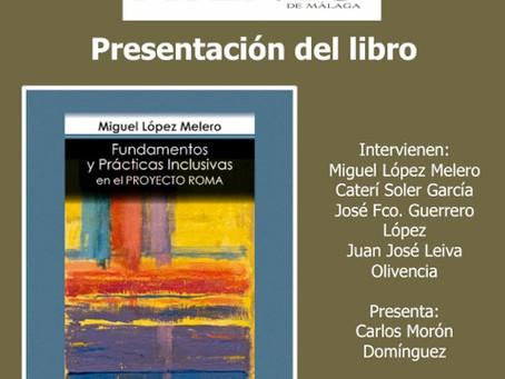 """Presentación del libro """"Fundamentos y Prácticas Inclusivas en el Proyecto Roma"""""""