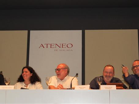 Presentación en el Ateneo de Málaga