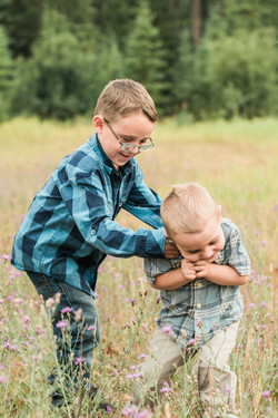 Elk Valley family photography