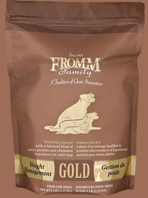 Fromm Family Weight Management Gold Food