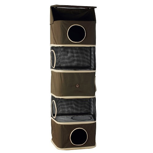One For Pets All in One Portable Cat Activity Tower (Five Storey)
