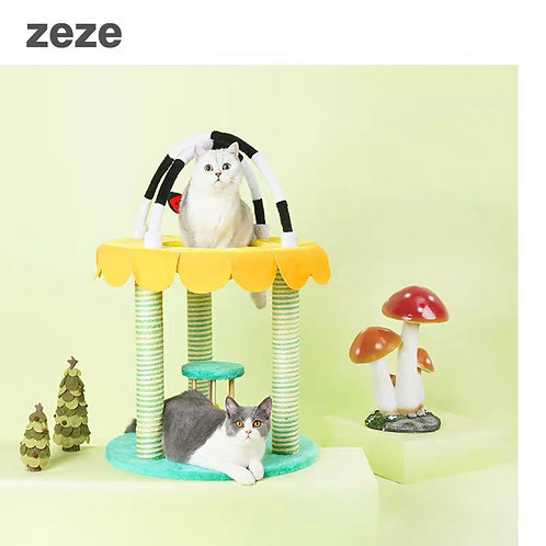 Zeze Garden Playground Scratcher / Bed / Toys for cats