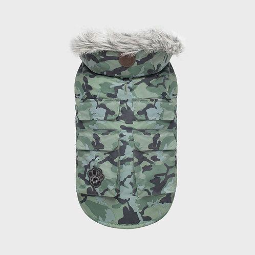 Canada Pooch Everest Explorer Vest Green Camo