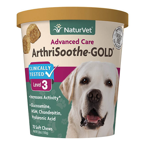 naturvet ArthriSoothe-GOLD® Advanced Care Soft Chews