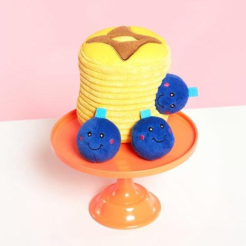 Zippy Paws Burrow - Blueberry Pancakes