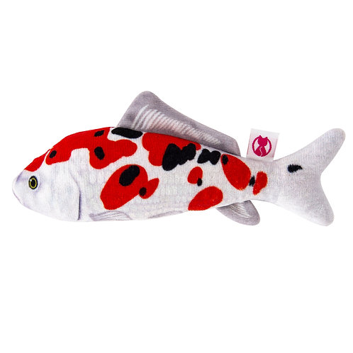 Silver Vine Japanese Koi Cuddle Fish 16cm