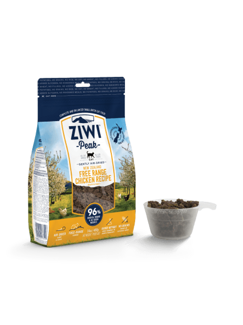 Ziwi Peak Air Dried Cat Food 400g