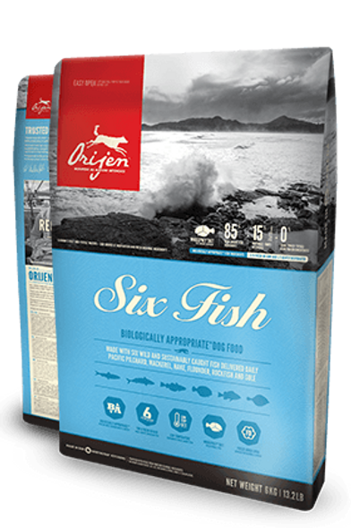 Orijen Six Fish Dog Dry Food