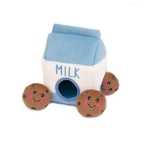 Zippy Paws Burrow - Milk and Cookies
