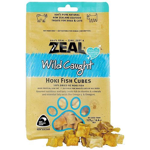 Zeal Treats - Wild Caught Hoki Fish Cubes