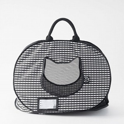 Neco Ichi Ultralite Pop-up Cat Carrier (Black)