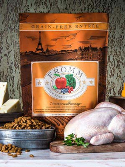 Fromm Four-Star Nutritionals® Chicken Au Frommage® Recipe Food for Dogs
