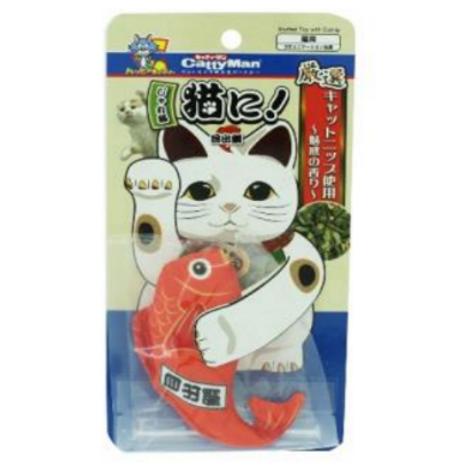Cattyman Cat toy stuffed with Catnip