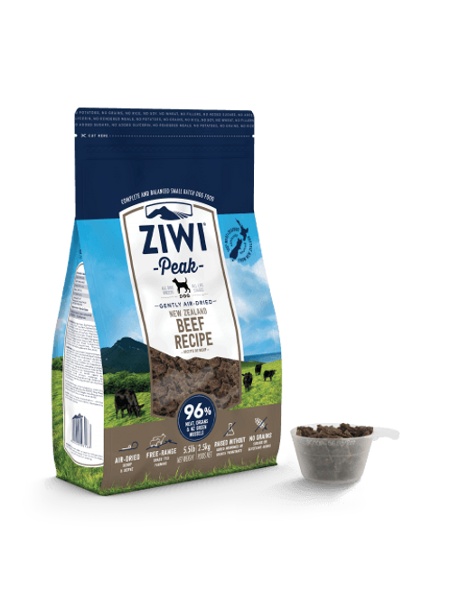 Ziwi Peak Air Dried Dog Food 454g