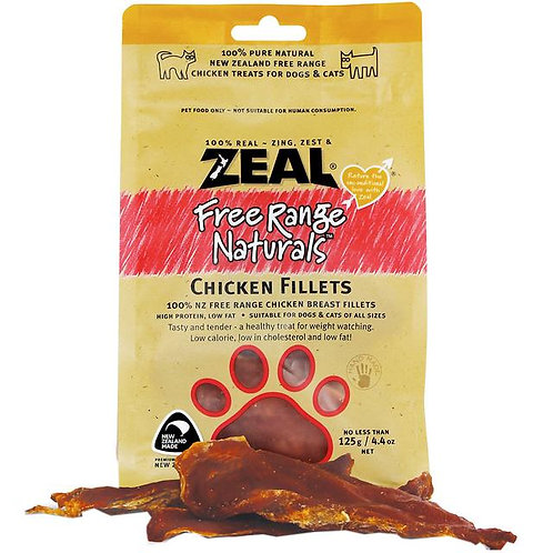 Zeal Dog Treats Chicken Fillets