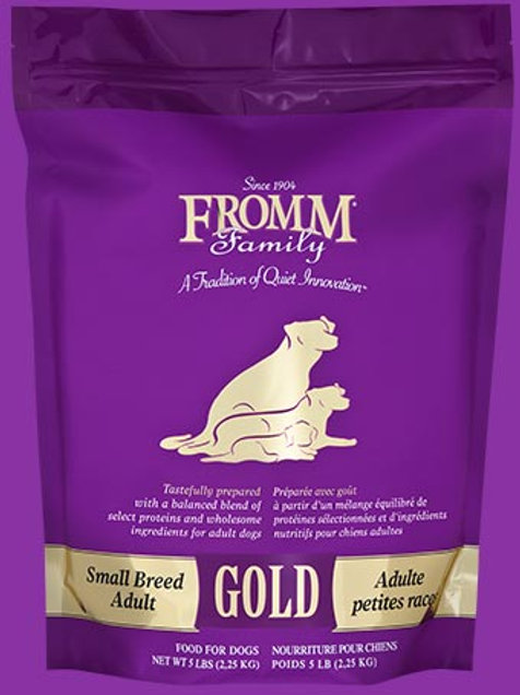 Fromm Family Small Breed Adult Gold Food