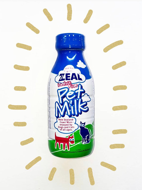 Zeal Milk for Dogs and Cats