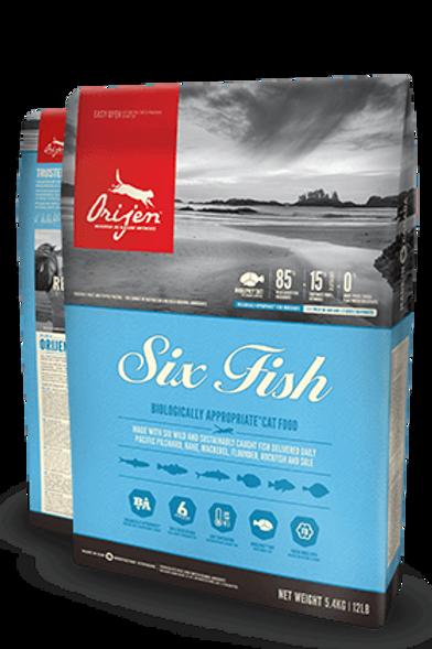 Orijen Six Fish Cat Dry Food