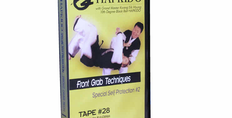 28 Front Grab Techniques - Special Self Protection - Series #2