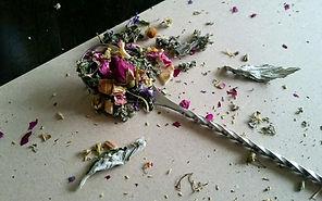 Floral Hay Topper