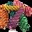 Thumbnail: Colour Vine Twists x 5