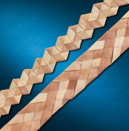 9m Natural Palm Leaf Shredder Roll