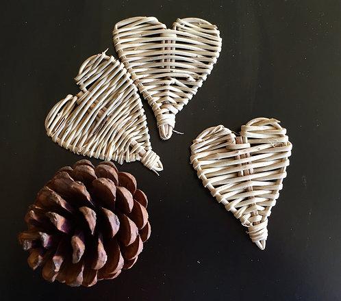 Small Vine Hearts x 3+