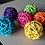 Thumbnail: Colour Rattan Balls x 5