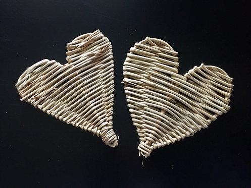 Large Vine Hearts x 2