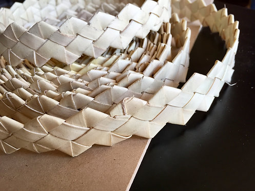 Natural Palm Shredder per Metre