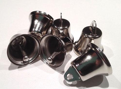 Bulk Nickel Plated Liberty Bells x 50