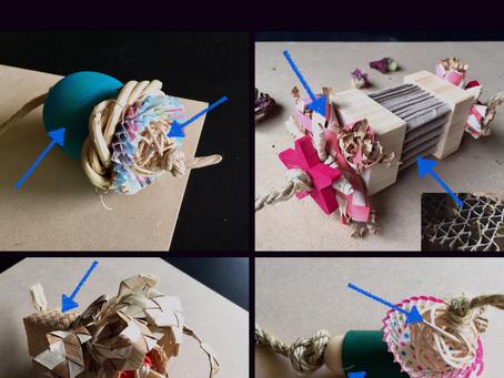 DIY Bunny Logic Toys