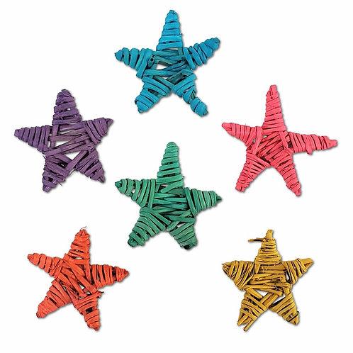 Colour Mini Vine Stars x 5