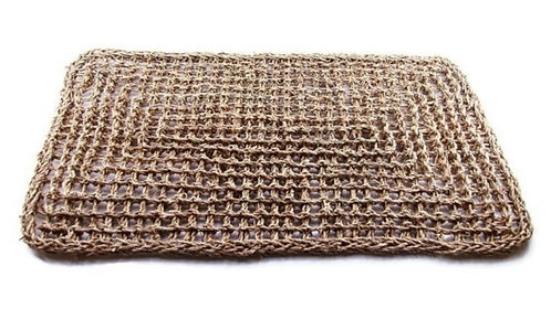 Large Braided Seagrass Mat