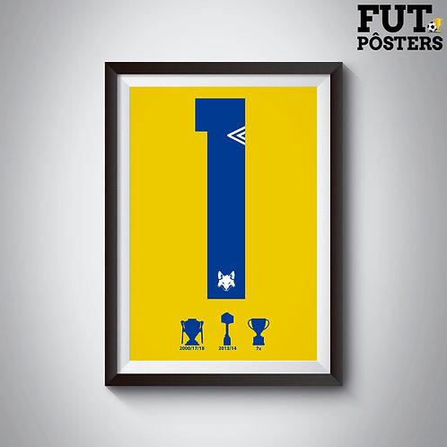 Pôster Idolos do Cruzeiro - Fábio - 29,7 x 42 cm (A3)