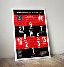 Poster Flamengo 2020