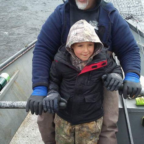 Guest rower on the oars