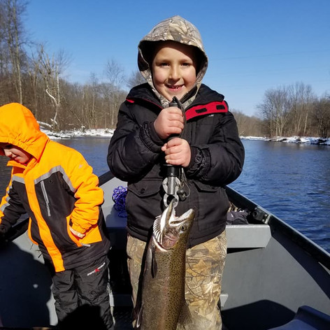 we love getting your kids on the fish!