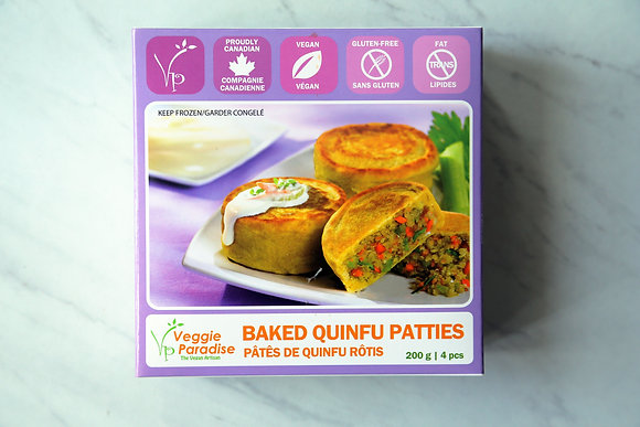 Baked Quinfu Patties (200g, 4 pcs)