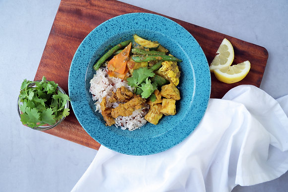 Vegan Thai Soy Curry with Rice (375g)