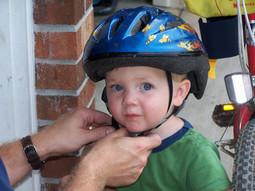 Alex Thompson Bike Helmet