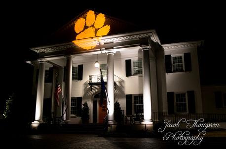 Clemson president's house