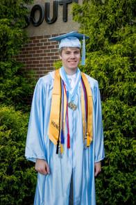 Jacob Thompson high school graduation