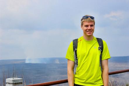 Jacob Thompson hike hawaii