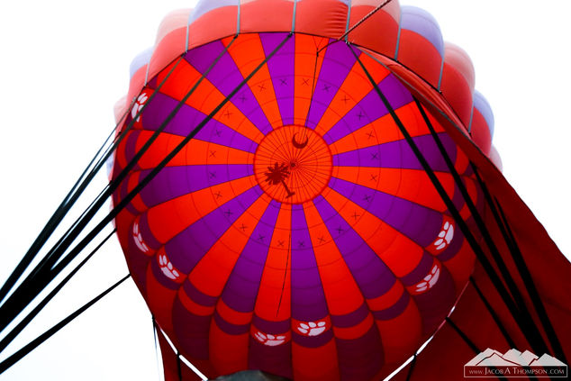 Clemson hot air balloon