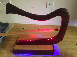 Arduino laser harp demonstration